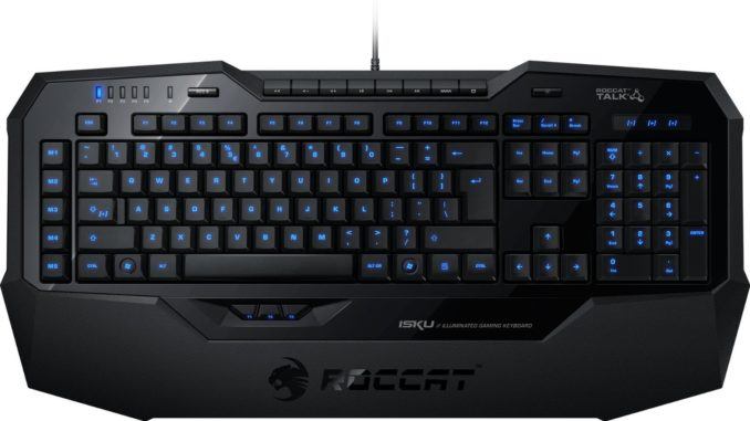 Roccat Isku Test Illuminated