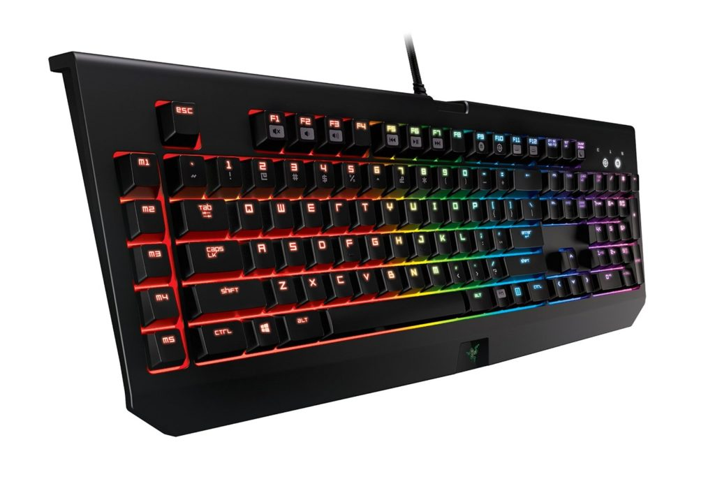 Razer BlackWidow Chroma Test Tastatur